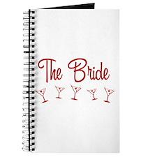 Red M-Martini Bride Journal