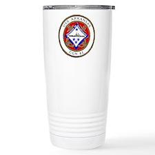 USS Arkansas CGN 41 Travel Mug