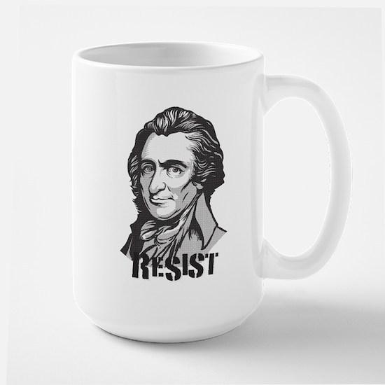 Thomas Paine: Resist Large Mug