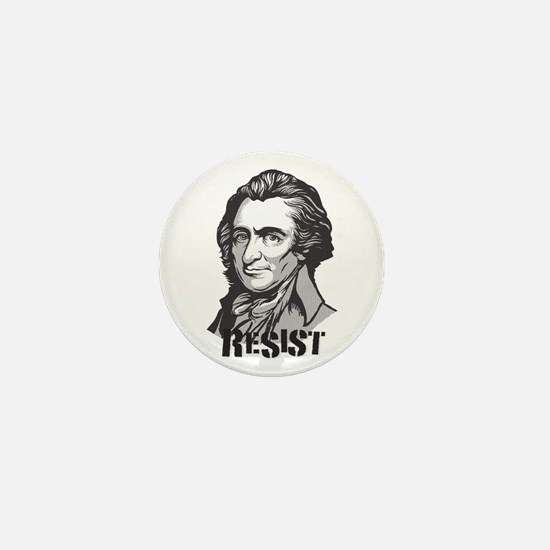 Thomas Paine: Resist Mini Button