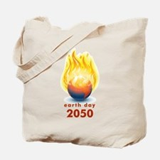 'Earth Day 2050' Tote Bag