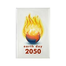 'Earth Day 2050' Rectangle Magnet