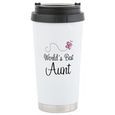 World's Best Aunt Travel Mug