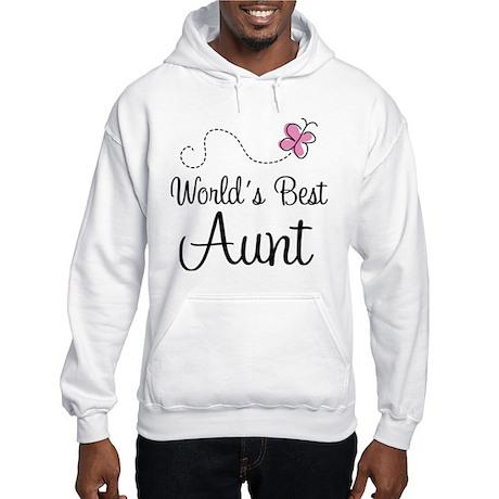 World's Best Aunt Hooded Sweatshirt