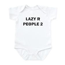 Lazy R People 2 Infant Bodysuit