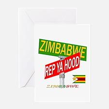 REP ZIMBABWE Greeting Card