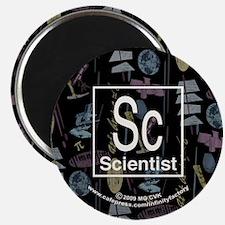 """Scientist Retro 2.25"""" Magnet (100 pack)"""
