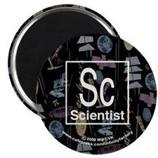 Scientist Retro Magnet
