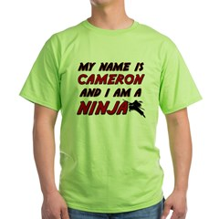 my name is cameron and i am a ninja T-Shirt