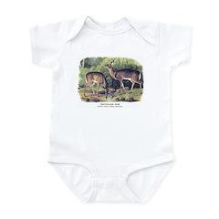 Audubon White-Tailed Deer Infant Bodysuit