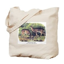 Audubon White-Tailed Deer Tote Bag