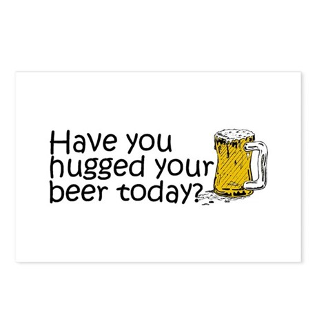 Have You Hugged Your Beer Today? Postcards (Packag