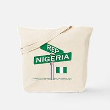 REP NIGERIA Tote Bag