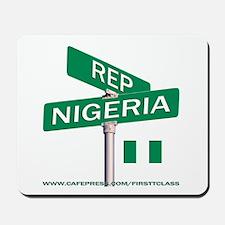 REP NIGERIA Mousepad