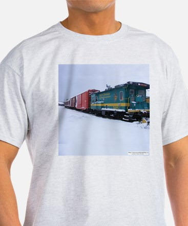 E&N Caboose with Boxcars