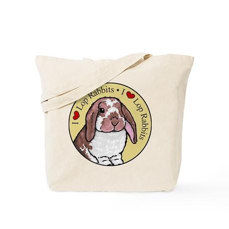 I Love Lops Circle Tote Bag