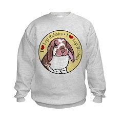 I Love Lops Circle Sweatshirt