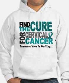 Find The Cure 1 Cervical Cancer Hoodie