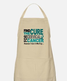 Find The Cure 1 Cervical Cancer BBQ Apron