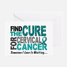 Find The Cure 1 Cervical Cancer Greeting Card