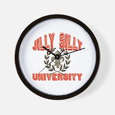 Jilly Silly Nickname University Wall Clock