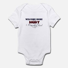 (US Navy) Welcome Home Daddy Infant creeper