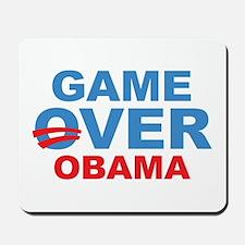 Anti Obama Game Over Mousepad