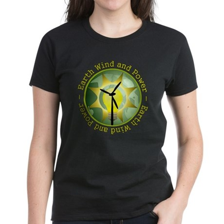 Earth wind and power Women's Dark T-Shirt