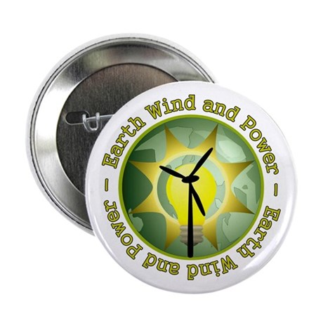 "Earth wind and power 2.25"" Button"