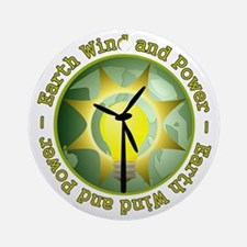 Earth wind and power Ornament (Round)