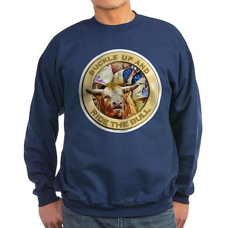 Ride the Bull Sweatshirt (dark)