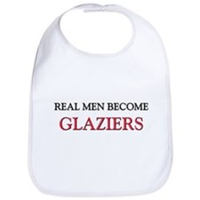Real Men Become Glaziers Bib