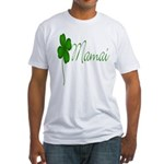 Shamrock Mom Fitted T-Shirt