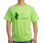 Shamrock Mom Green T-Shirt