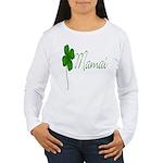 Shamrock Mom Women's Long Sleeve T-Shirt