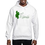 Shamrock Mom Hooded Sweatshirt
