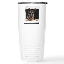 Unique German shepherd guard dog Travel Mug