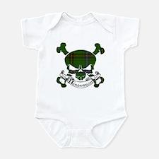 Henderson Tartan Skull Infant Bodysuit