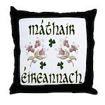 Irish Mother (Floral) Throw Pillow
