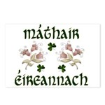 Irish Mother (Floral) Postcards (Package of 8)