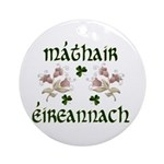 Irish Mother (Floral) Keepsake Ornament