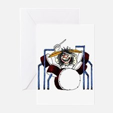 DRUMS (2) Greeting Cards (Pk of 10)