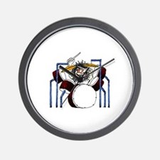 DRUMS (2) Wall Clock