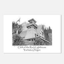Cleft of the Rock Lighthouse Postcards (Package of