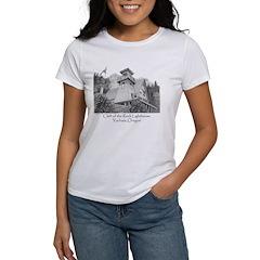 Cleft of the Rock Lighthouse Women's T-Shirt