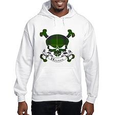 Holmes Tartan Skull Jumper Hoody
