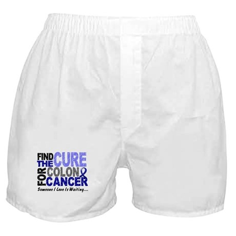 Find The Cure Colon Cancer Boxer Shorts