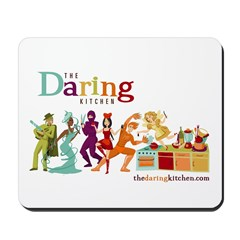 The Daring Kitchen's Heroes Mousepad