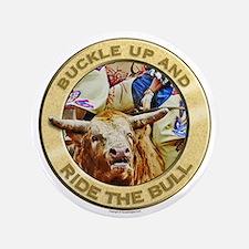 "Bull Buckle 3.5"" Button"