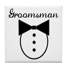 Groomsman Tile Coaster